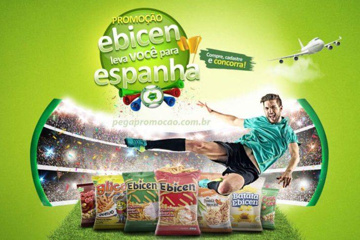 Promoção Ebicen Leva Você para a Espanha