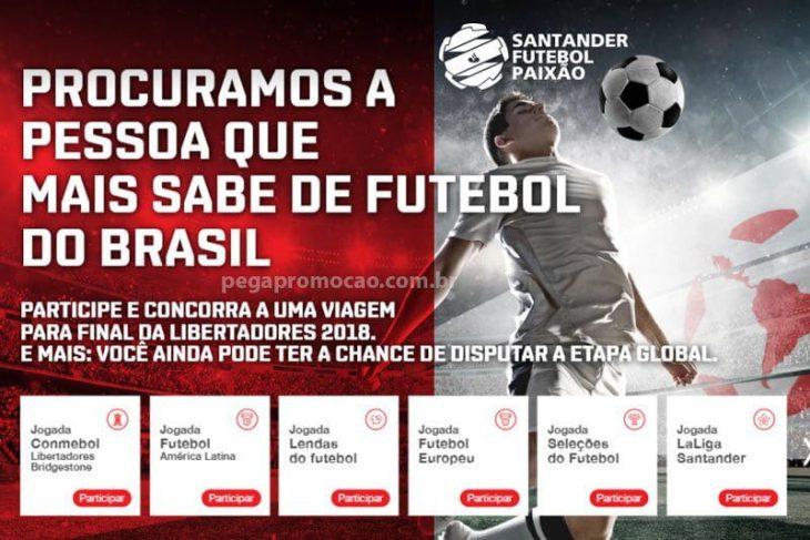 Concurso Santander Futebol Paixão