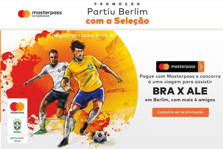 Promoção Mastercard Partiu Berlin Com a Seleção