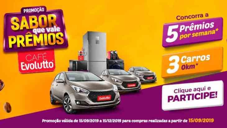 Promoção Café Evolutto 2019 Sabor que Vale Prêmios