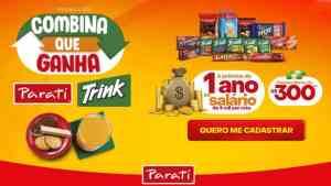 Promoção Suco Trink e Parati - Combina que ganha