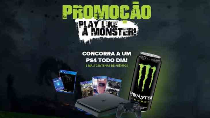 Promoção Play Like a Monster