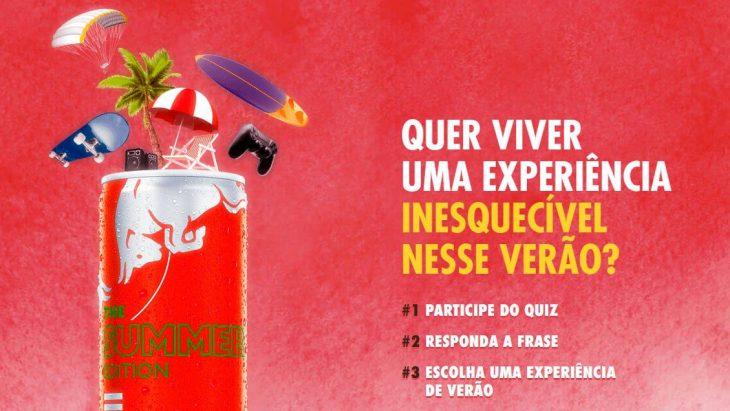 Promoção Red Bull Summer Edition viva experiências com seu ídolo