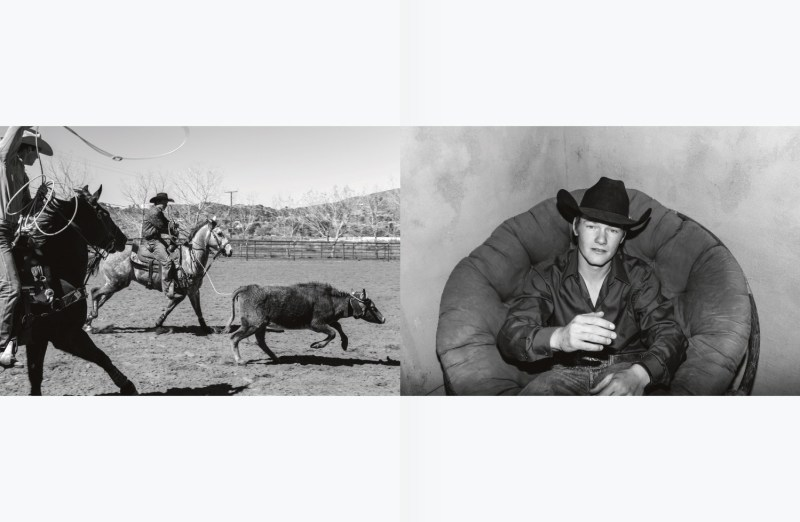 Hedi Slimane's American cow-boys for HERO #9 spring-summer 2013