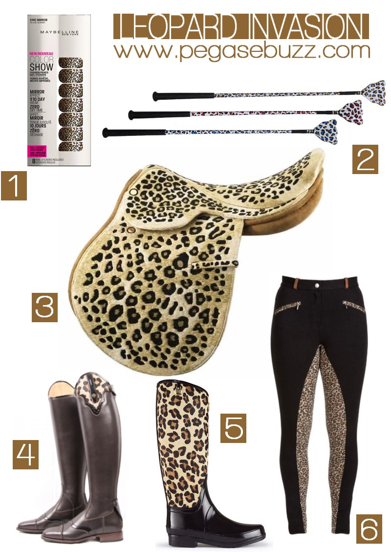 Equestrian Fashion : leopard inspiration