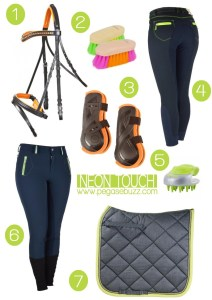 Equestrian Fashion : Neon touch