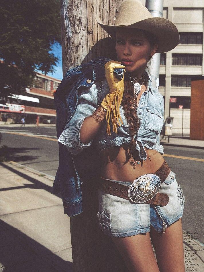 Adriana Lima by Inez & Vinoodh for Garage 2013