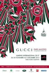 www.pegasebuzz.com | Affiche Gucci Paris Masters 2012