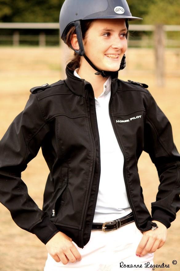 www.pegasebuzz.com | Equestrian Fashion : crash test blouson Horse Pilot