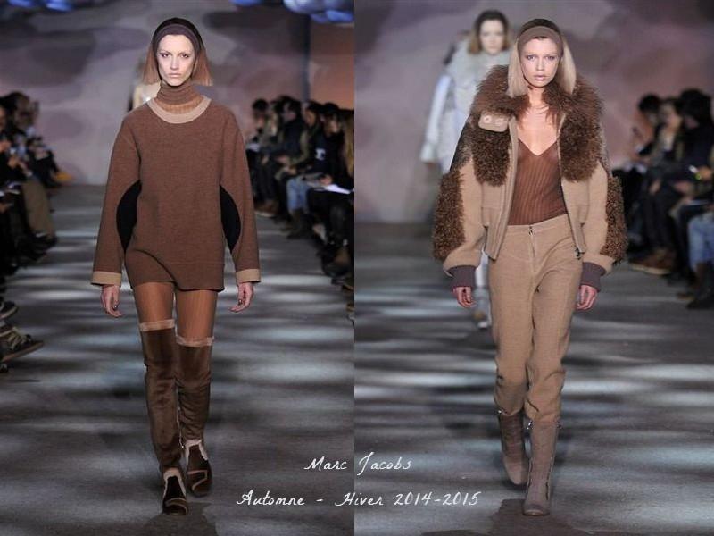www.pegasebuzz.com | Défilé Marc Jacobs femme, automne-hiver 2014-2015