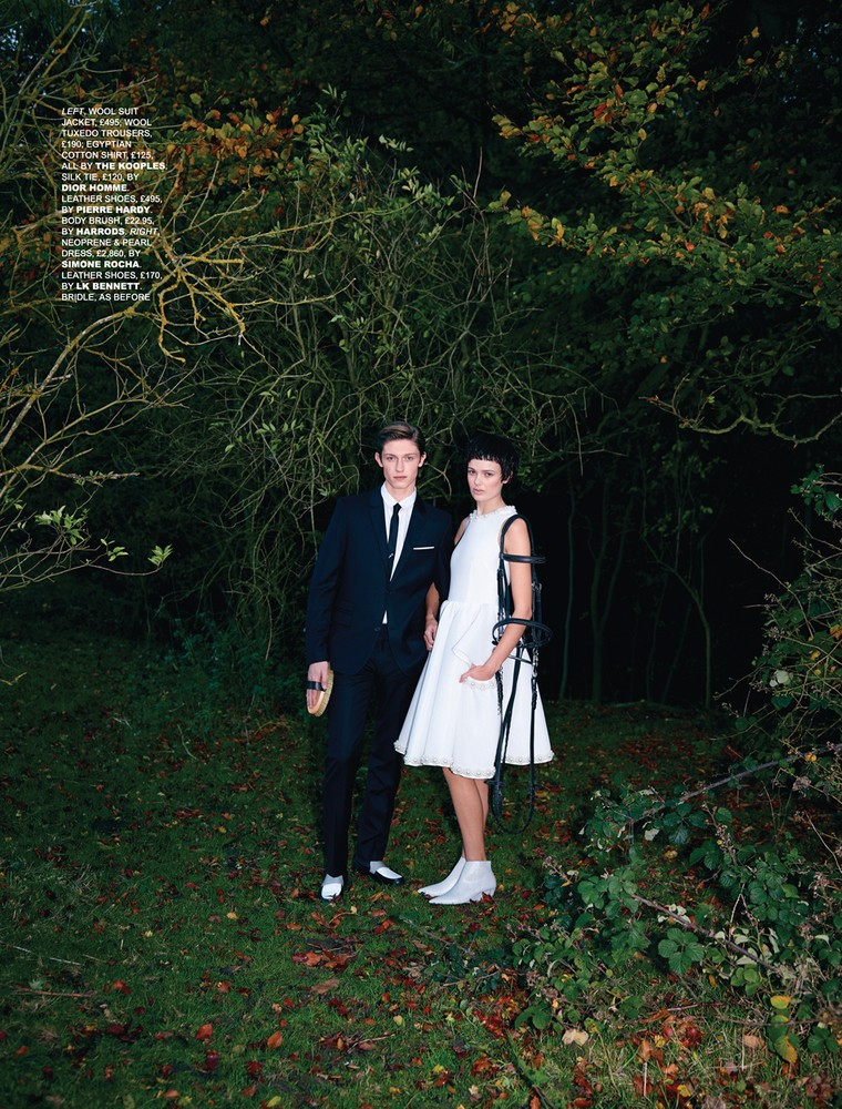 www.pegasebuzz.com | Deep Kailey and Rebekka Ehlers for Tatler UK, february 2014