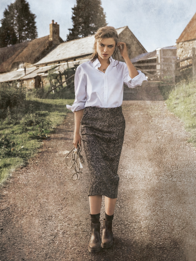 www.pegasebuzz.com | Sophie Vlaming by Carl Bengtsson for ELLE Germany, november 2014