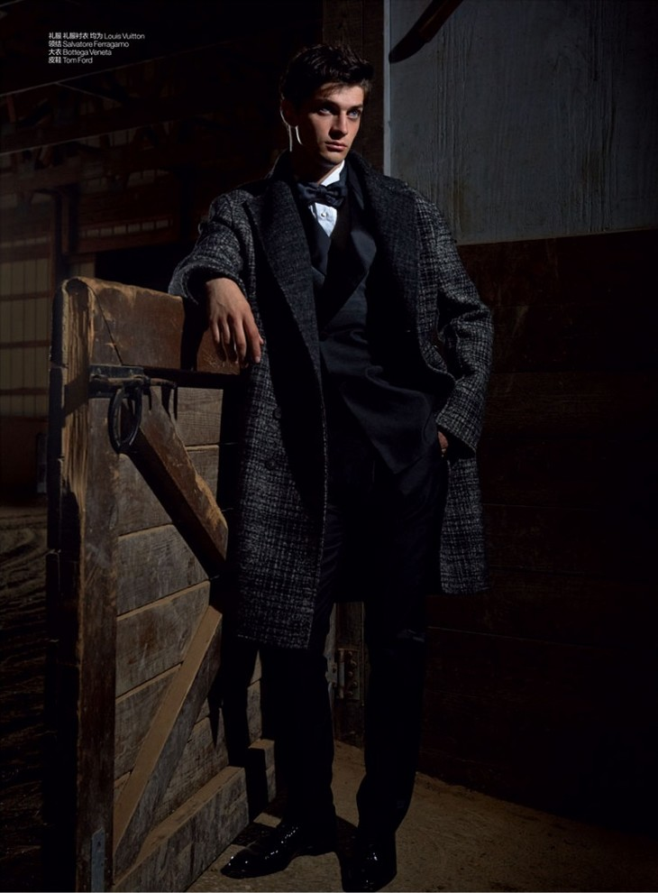 www.pegasebuzz.com | Matthew Bell by Kate Orne for GQ China, december 2014