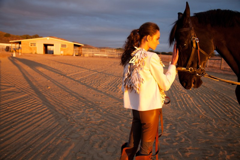 www.pegasebuzz.com | Rachel Finninger by Ari Abramczyk for Genlux, winter 2012