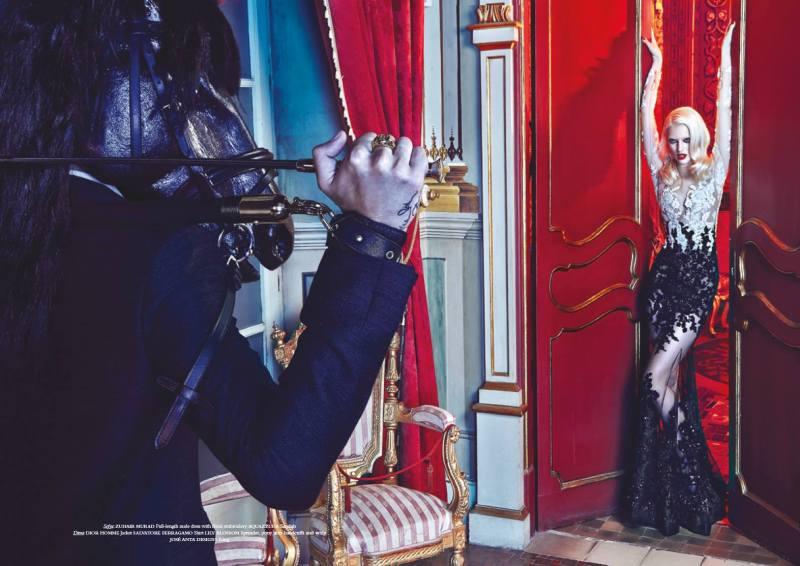 www.pegasebuzz.com | Dima and Sofya Titova by Greg Swales for Horse Magazine #5