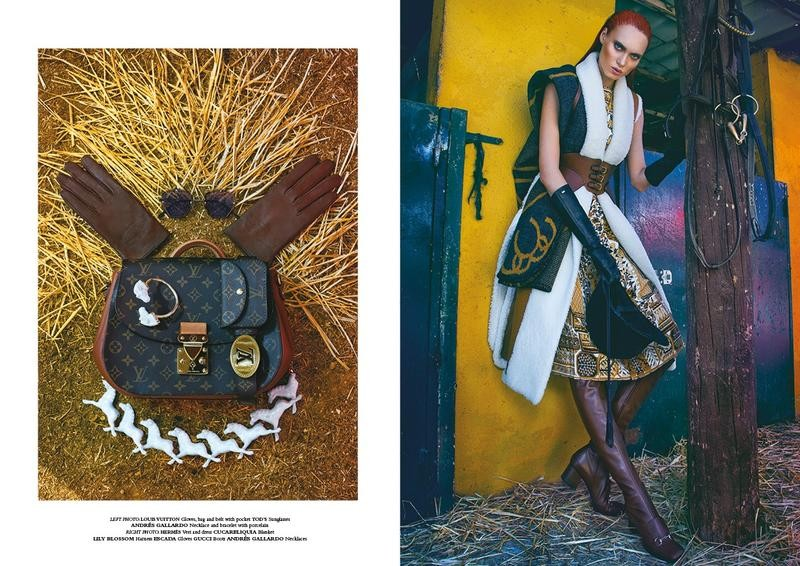 www.pegasebuzz.com | Tanya Reutt and Chris Elson by Chesco Lopez for Horse Magazine #5