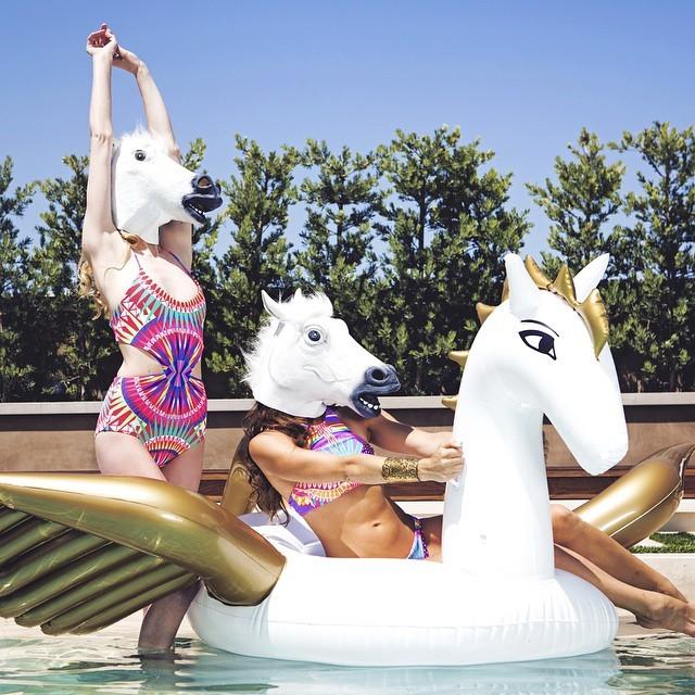 www.pegasebuzz.com | Pegasus pool float by Funboy