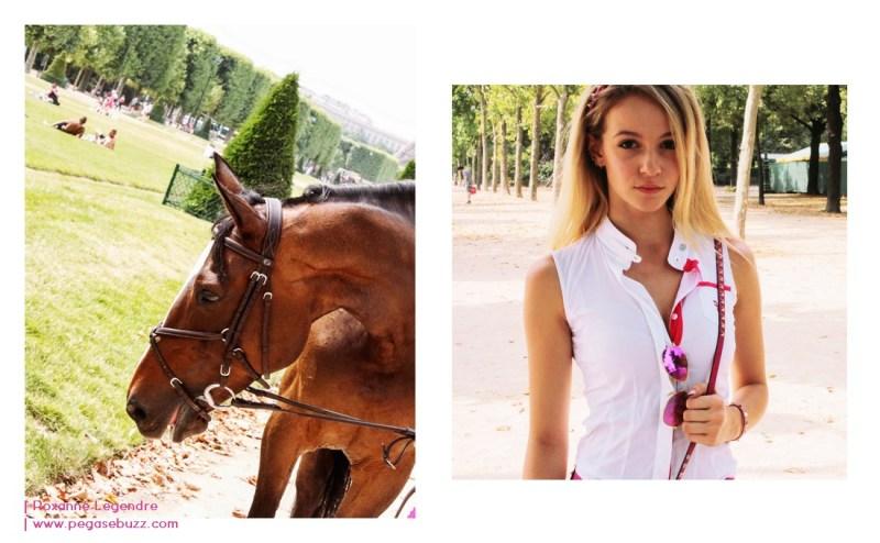 www.pegasebuzz.com | La Cavalière Rose : Cassandra Foret photographiée par Roxanne Legendre