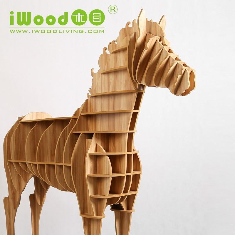 www.pegasebuzz.com | IWOODLIVING horse desk