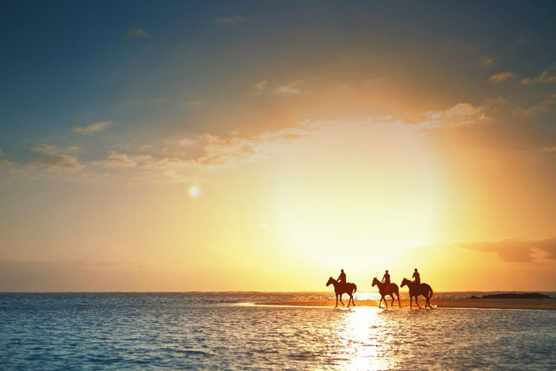 www.pegasebuzz.com | LUX Belle Mare Mauritius horse riding