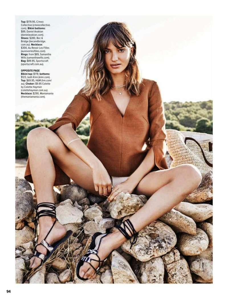 www.pegasebuzz.com | Gabrielle Caunesil by Kane Skennar for Cosmopolitan Australia, february 2016