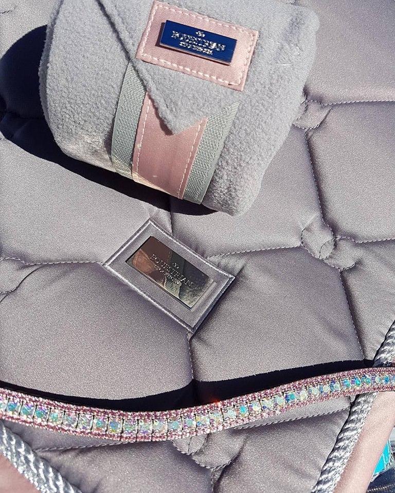 www.pegasebuzz.com | Equestrian Fashion : Equestrian Stockholm, dusty pink collection.