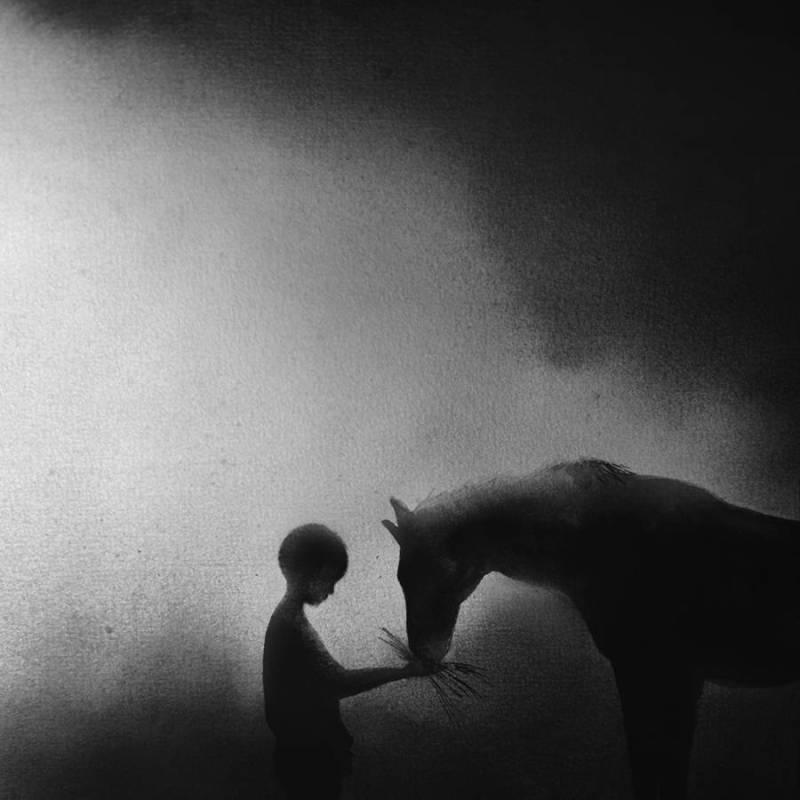 www.pegasebuzz.com | Illustration : Elicia Edijanto - Horse