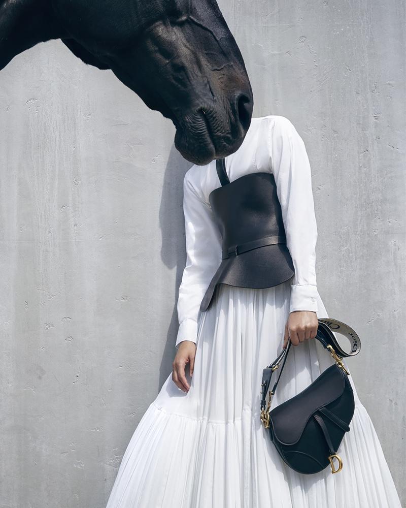 www.pegasebuzz.com   Jennifer Lawrence by Viviane Sassen for Dior Cruise, 2019.