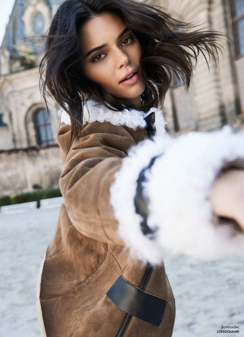 www.pegasebuzz.com | Kendall Jenner by Fred Meylan for ELLE France, october 2018.