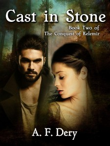 Cast in Stone by A.F. Dery