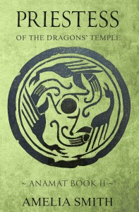 Priestess of the Dragons' Temple by Amelia Smith
