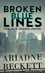Broken Blue Lines by Ariadne Beckett
