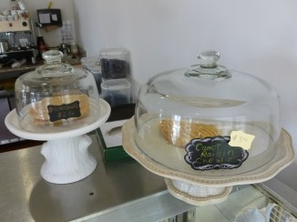 Vegan baked goods, Muir's Tea Room, Sebastopol, California