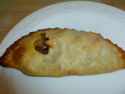 Vegan pasty, Muir's Tea Room, Sebastopol, California