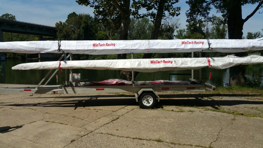 New Boats on Trailer Pic