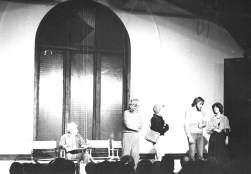 First show before theatre became Pegasus