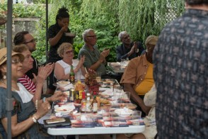 Garden Party Guests support Rutherford's Travels