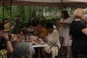 Guests enjoy Gumbo