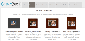 groupbook home page