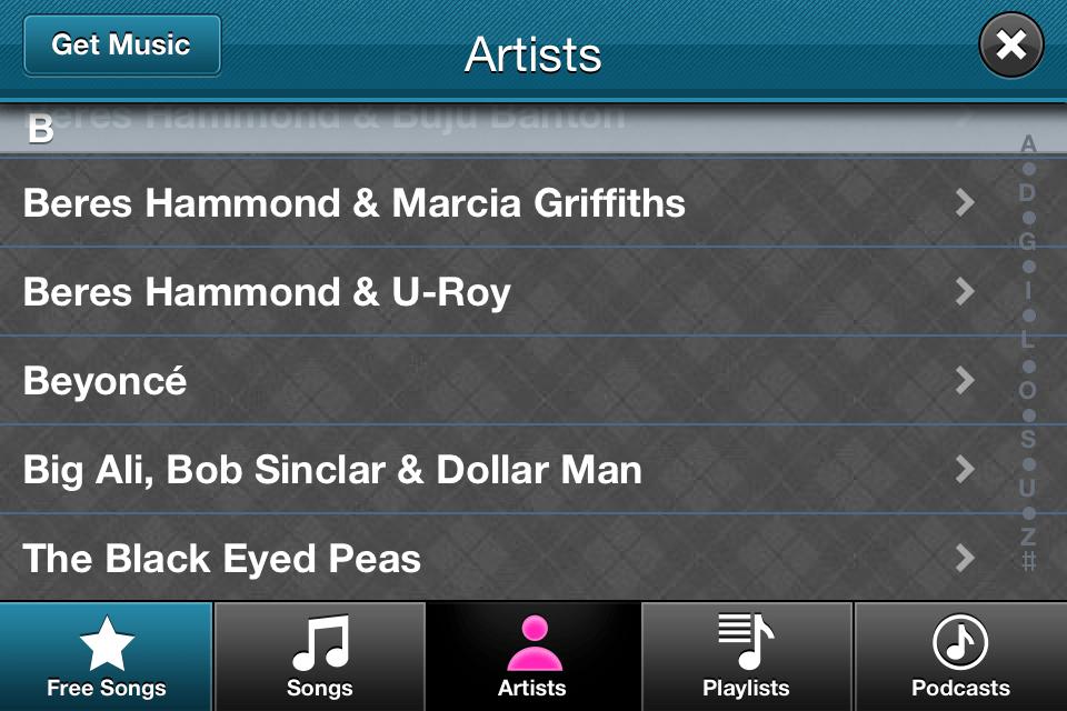 Video Star App choose Music