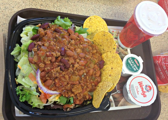 Wendys Natasha Taco Salad