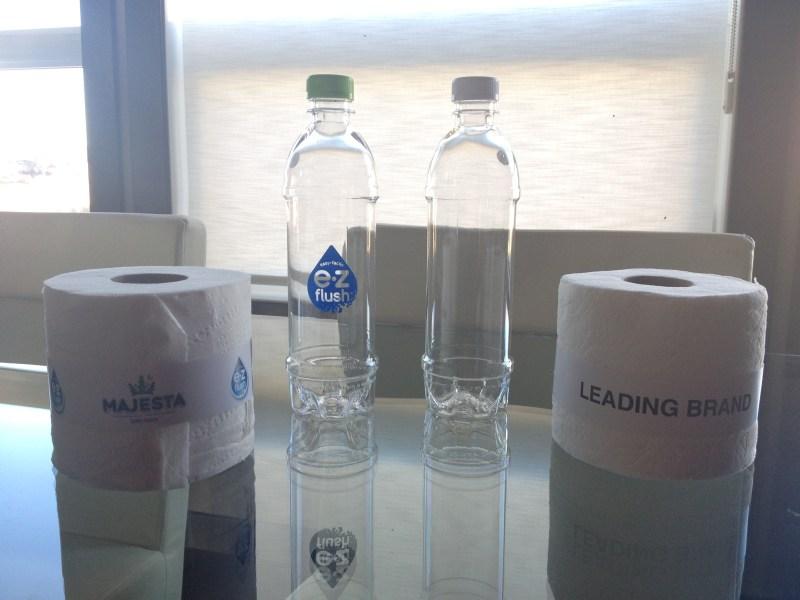 majesta e-z flush test