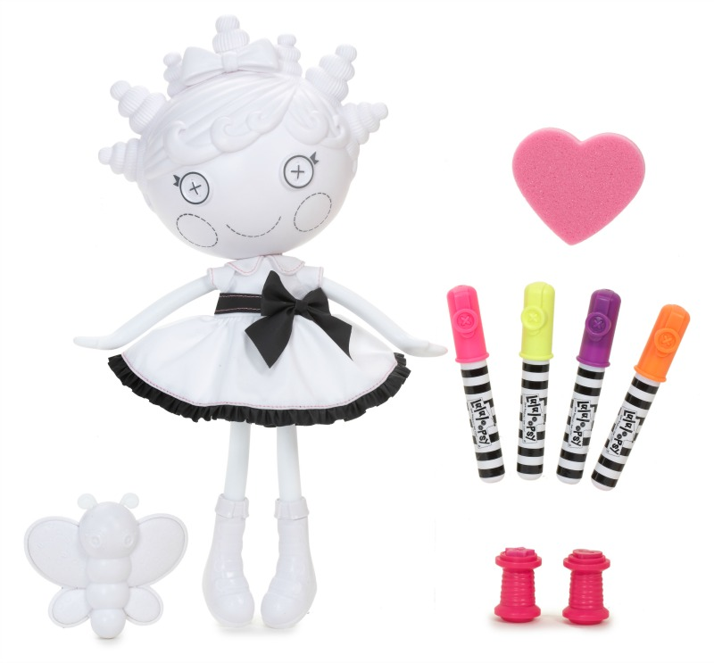 Lalaloopsy Colour Me Doll Fun! #GuestPost #PCLGiftGuide14
