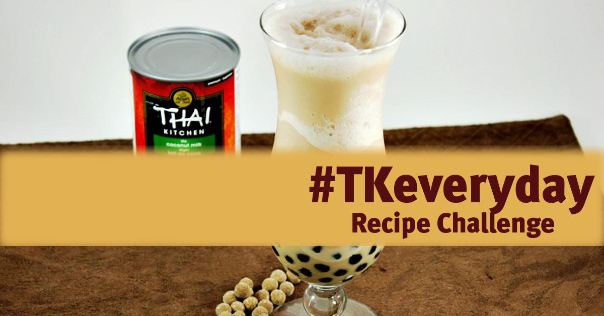 Coconut Bubble Tea #TKEveryday