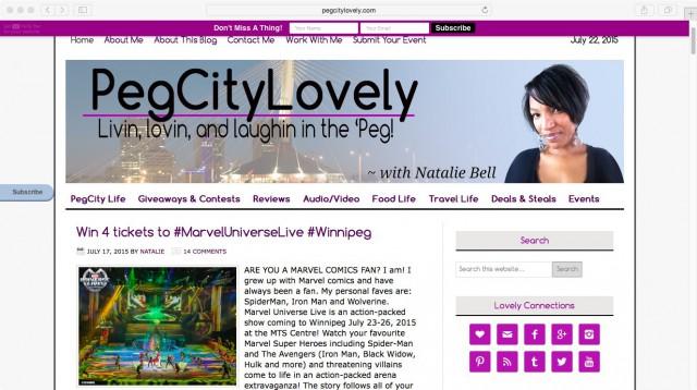 PegCityLovely July 2015 Screenshot