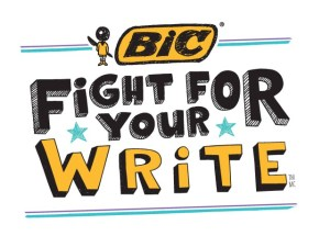 Have You Taken The Pledge To Fight For Your Write? #BICFFYW