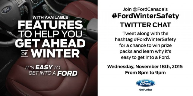 #FordWinterSafety Twitter Party