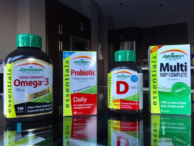 #JamiesonEssentials, vitamins