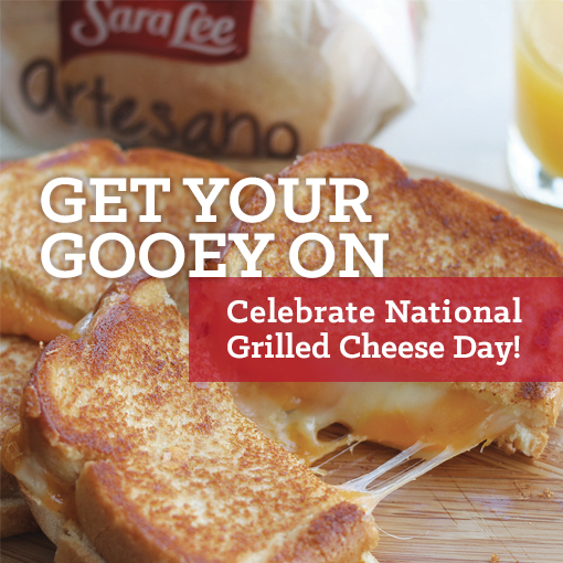 Get Out Of Your Comfort Food Zone for #NationalGrilledCheeseDay