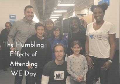The Humbling Effects of Attending WE Day Manitoba 2017